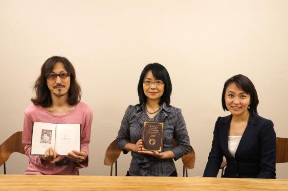 中嶋真澄さん、谷口シロウさん(『9つの神秘』)の著者インタビュー動画を撮影