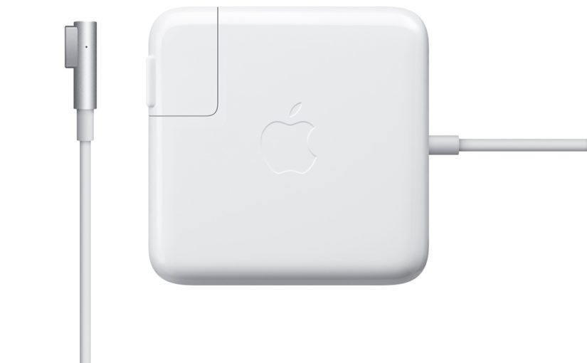 MacbookAirの電源アダプタが断線…